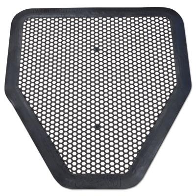 Deo-Gard Disposable Urinal Mat, Charcoal, Mountain Air, 17 1/2x20 1/2, 6/Carton