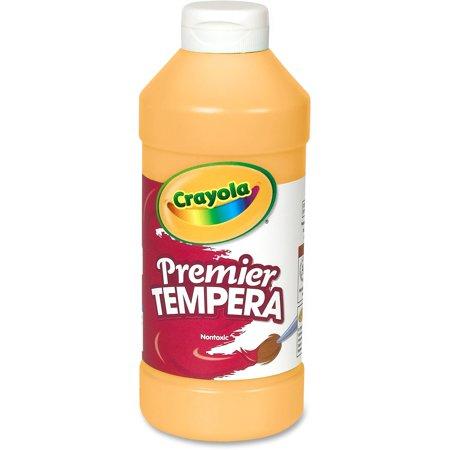 Premier Tempera Paint, Peach, 16 oz Bottle