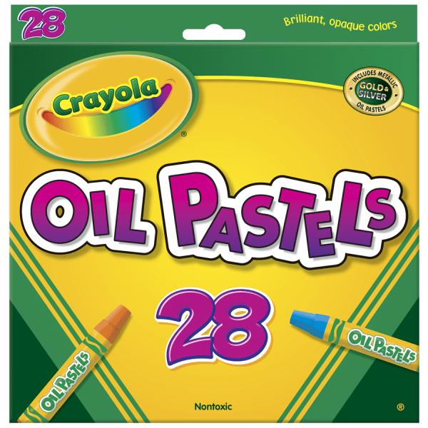 Oil Pastels,28-Color Set, Assorted, 28/Pack