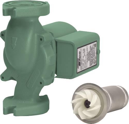 TACO CAST IRON WATER CIRCULATOR PUMP, 1/25 HP