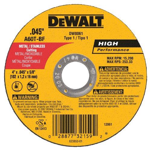 DW8061 4X.045X5/8 CUT WHEEL