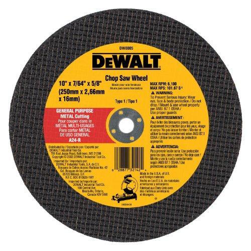 DW8005 10 IN. MTL CHOP WHEEL
