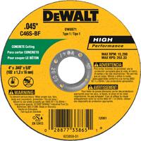 DW8071 4X.045X5/8 CON/MSRY WHL