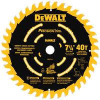 DW7114PT 7-1/4 40T MITER BLADE