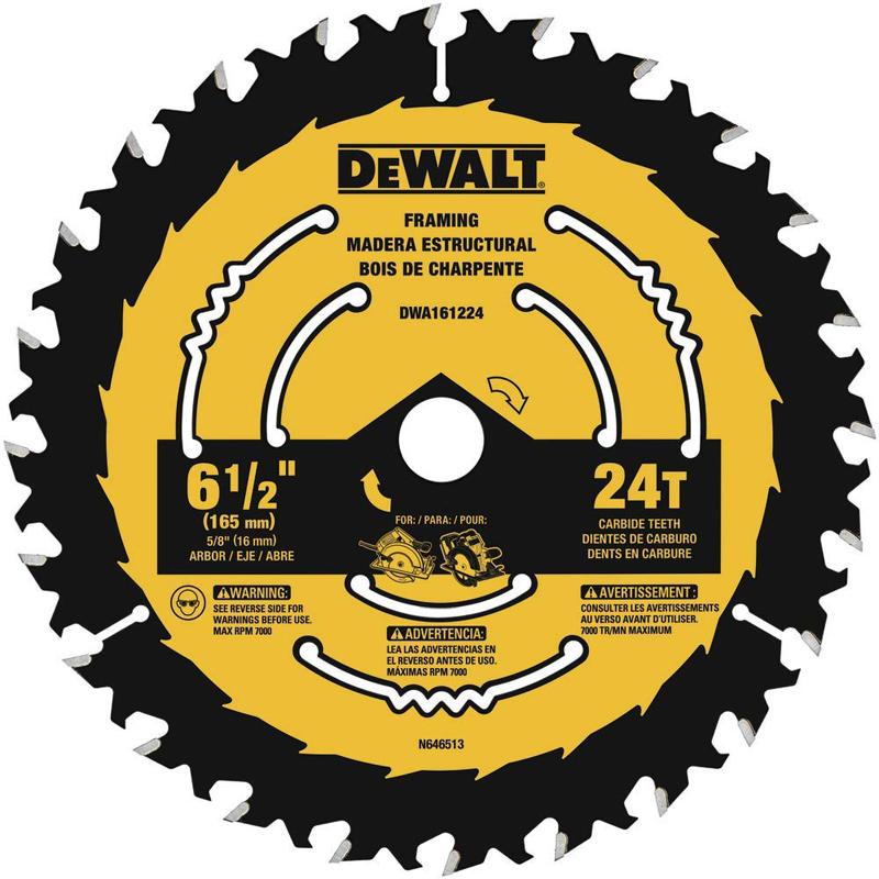 DWA161224 6-1/2 24T FRAM BLADE