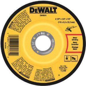 DW4541 4-1/2X1/4 CUTTING WHEEL