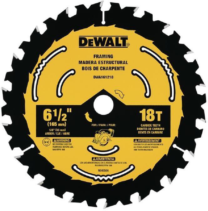 DWA161218 6-1/2 18T FRAM BLADE