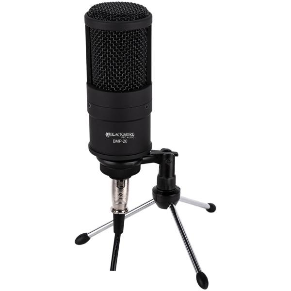 Blackmore Pro Audio BMP-20 BMP-20 Studio-Quality XLR Condenser Microphone Kit