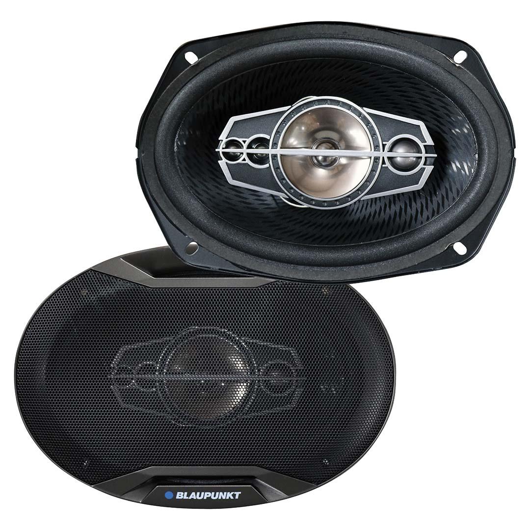 """Blaupunkt GTX695 6"""" x 9"""" 5-Way Coaxial Speakers 750Watts"""