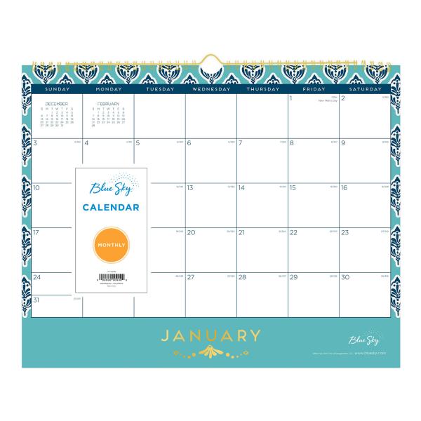 Sullana Wall Calendar, 15 x 12, 2021