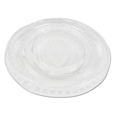 Souffl�/Portion Cup Lids, Fits 2 oz Portion Cups, Clear, 2500/Carton