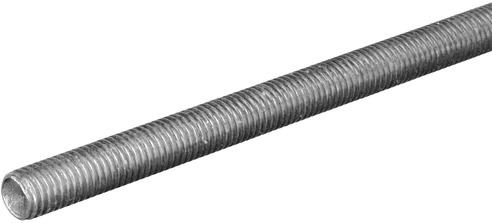11028 ZINC PLATED 1/2X72 IN. THREADED ROD