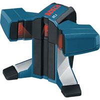 Bosch GTL3 Square Laser Range Finder With 45 deg 3rd Line, 65 ft, (4) AA 1.5 V Batteries