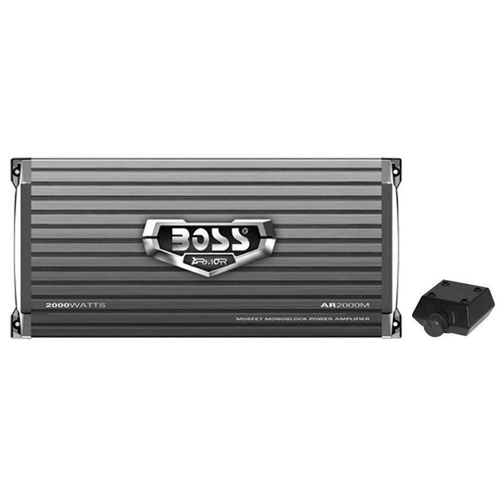 Boss Armor Monoblock Amplifier 2000W Max