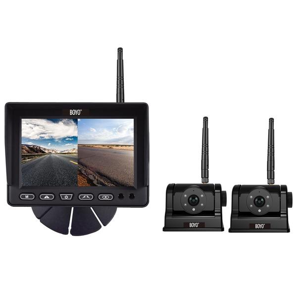 BOYO Vision VTCRH2 VTCRH2 2.4 GHz Wireless 2-Channel AHD Vehicle Backup System