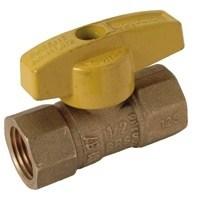 LBV8 BR GASBALL VAL 1/2 IN. FIP X