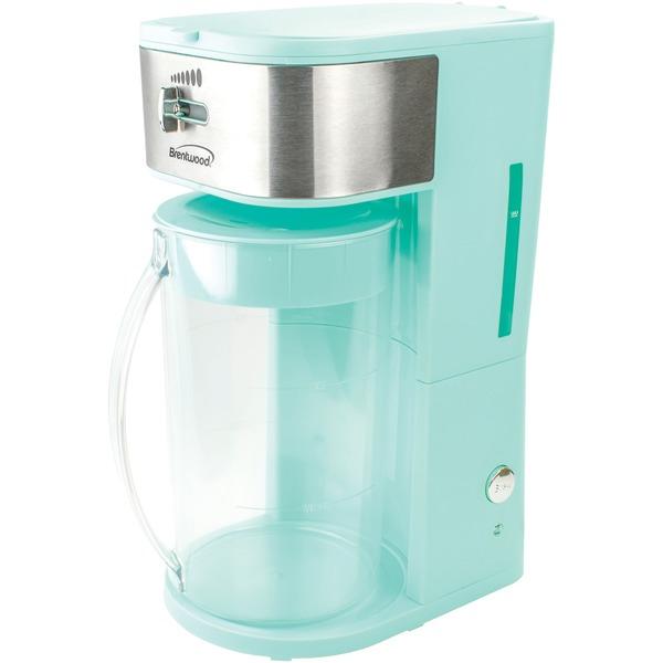 64OZ ICED TEA/CFF MKR BLU