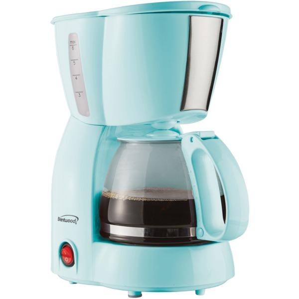 4CUP COFFEE MAKER BLU