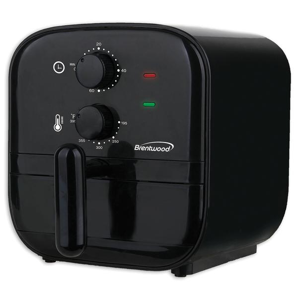 Brentwood Appliances AF-100BK 1-Quart 700-Watt Electric Air Fryer (Black)