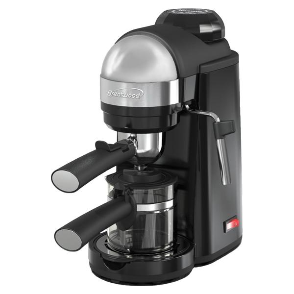 Brentwood Appliances GA-135BK 20-Ounce 800-Watt Espresso and Cappuccino Maker