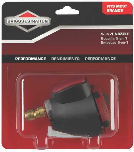 BRIGGS & STRATTON 5-IN-1 NOZZLE KIT