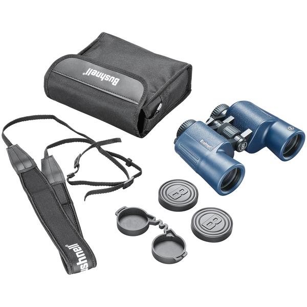 Bushnell 150142R H2O 10x 42 mm Aluminum-Frame Folding-Roof-Prism Binoculars