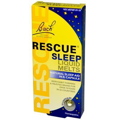 Bachs Rescue Remedy Sleep Liquid Melts (28 Cap)