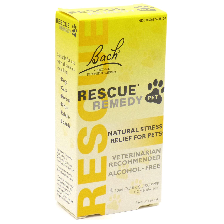 Bach Flower Essences Rescue Remedy, Pet, Alcohol Free (1x20 ML)