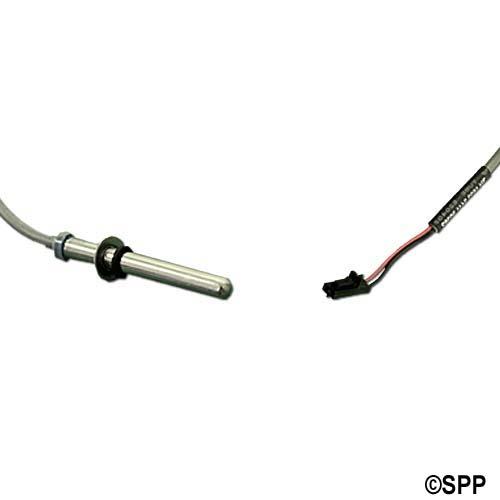 """Sensor, Temp/Hi-Limit, Balboa M7, Dual Purpose w/Cap Assembly, 24""""Cable x 1/4""""Bulb"""