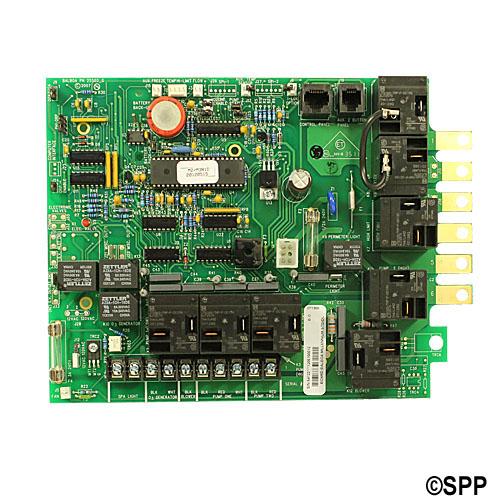 Circuit Board, Balboa, M2/M3 Deluxe/Serial Standard