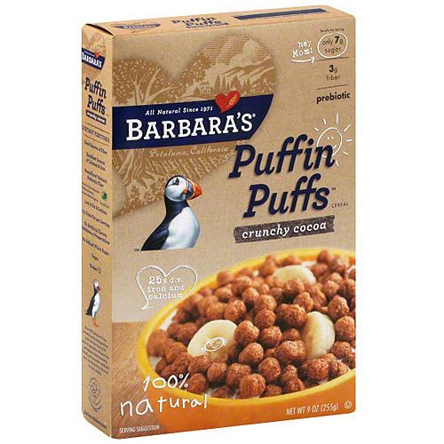 Barbaras Crunchy Corn Puffins (12x12 Oz)