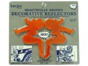 SITTING LADY REFLECTOR AMBER 2/CD