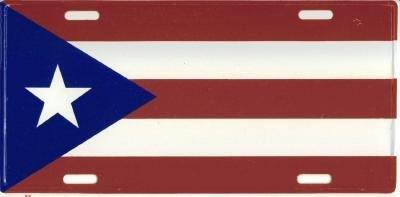 PUERTO RICO LICENSE PLATE