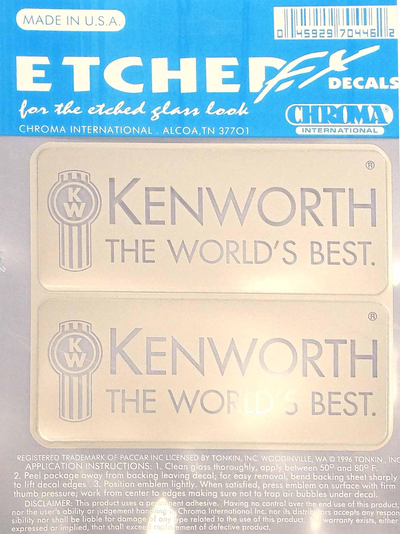 ETCHED FX KENWORTH