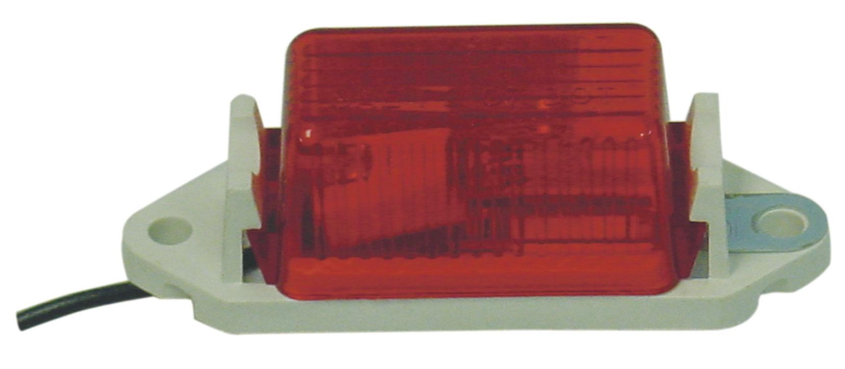 RED 2 HOLE SAEP2 97 DOT MARKER LIGHT