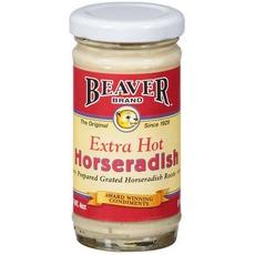 Beaver Extra Hot Horseradish Sauce (12x85Oz)