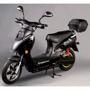 Scooter Bike - Electric - Black