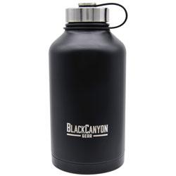 BCO 64OZ BLACK WATER BOTTLE TWIST LID