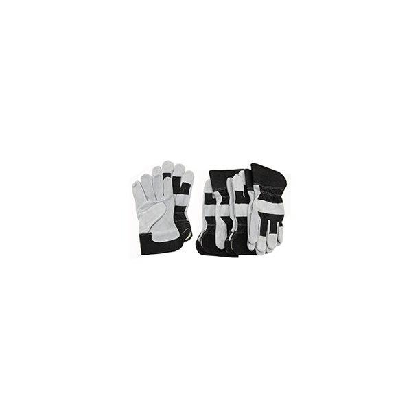 BCO GLOVE SPLIT COWHIDE BLACK 5-PACK