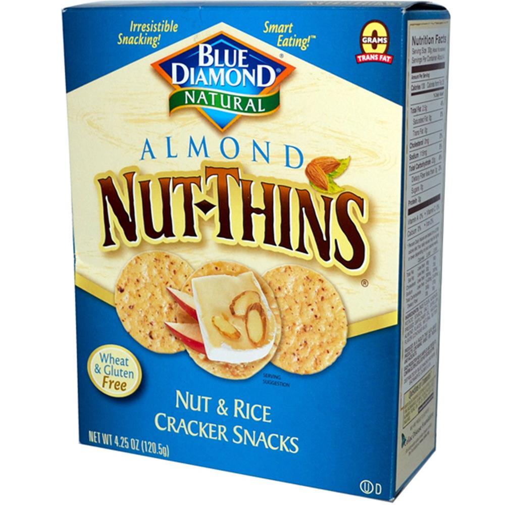 Blue Diamond Almond Nut Thin Crackers (12x425 Oz)
