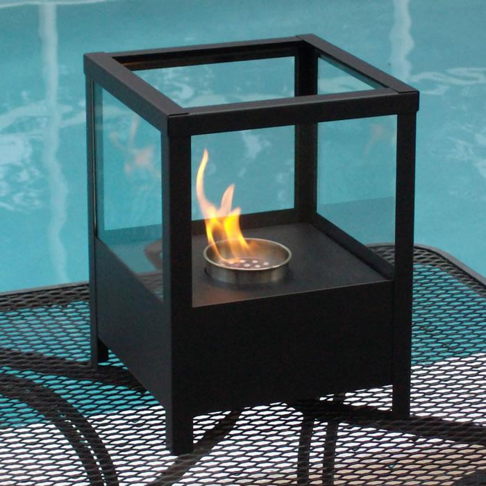 Sparo Tabletop Fireplace - Black