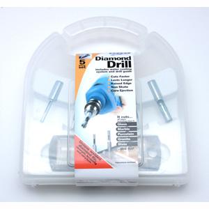BO30021 Diamond Drill Set, 5-Piece