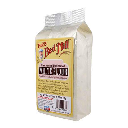 Bobs Red Mill Unbl White Flour (1x25LB )