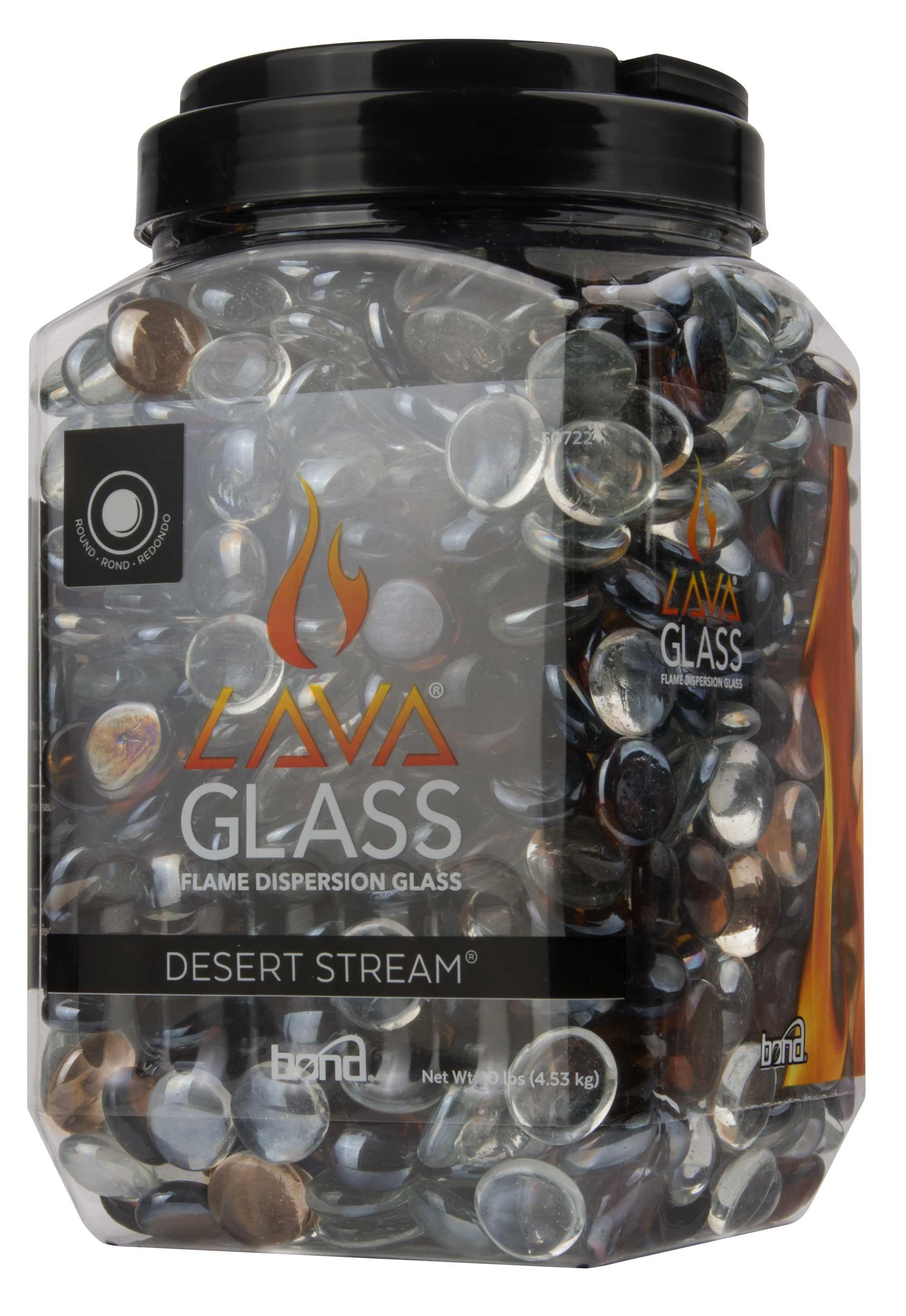 Round LavaGlass+ Desert Stream+  4-Pack