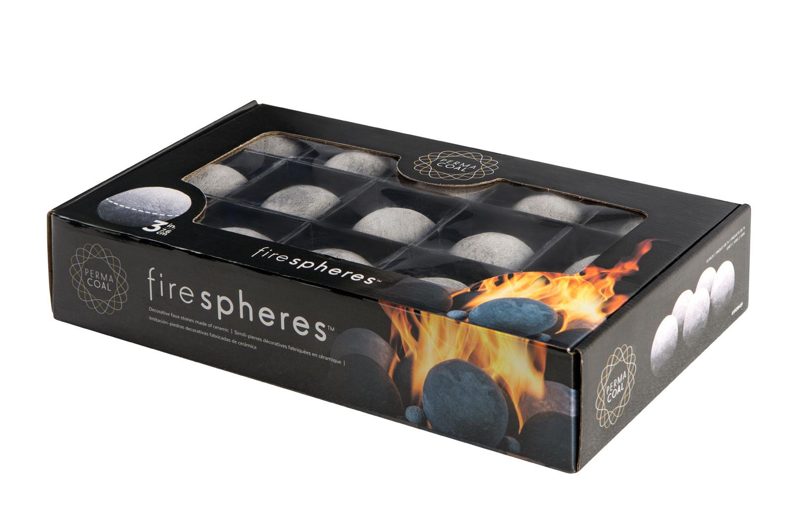 Permacoal Firespheres Grey