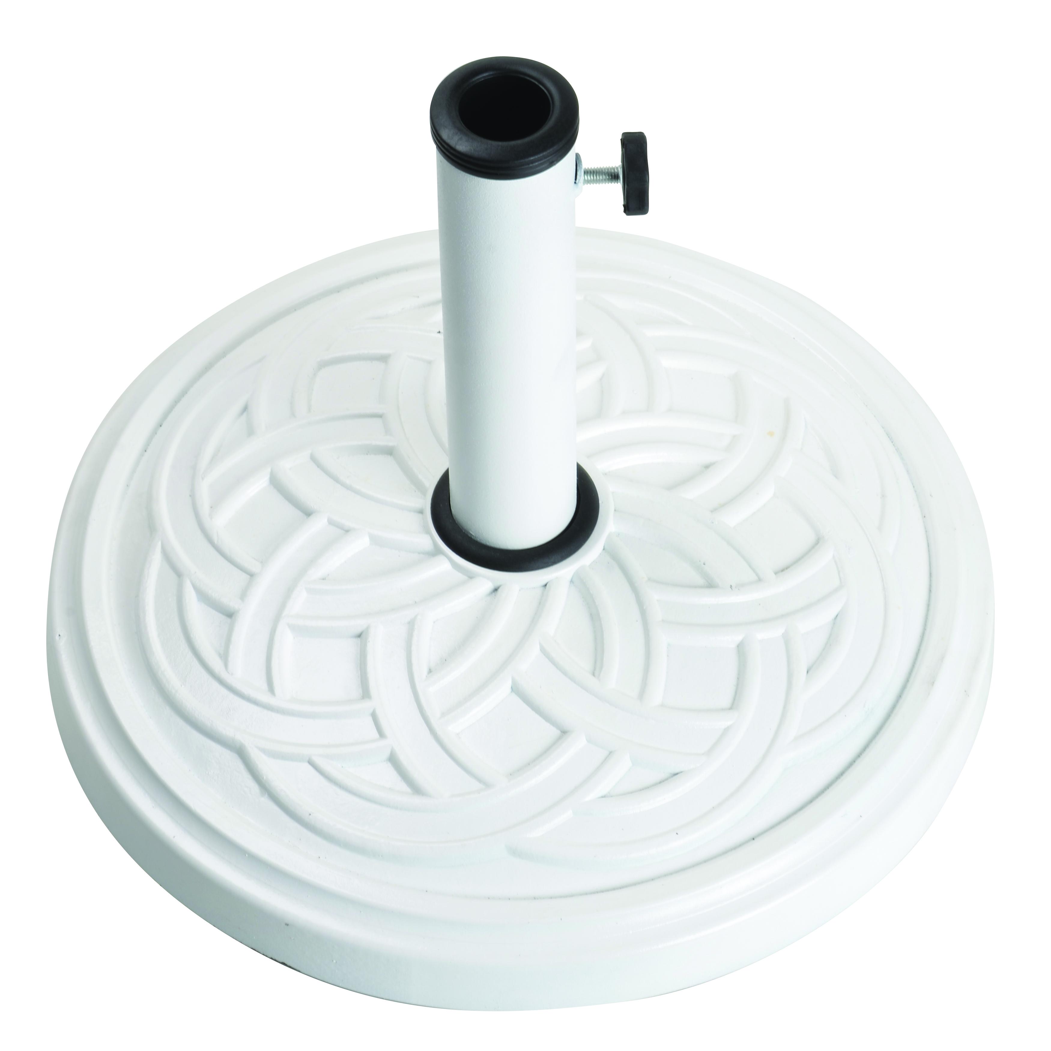 12Kg Gaelen Umbrella Base - White