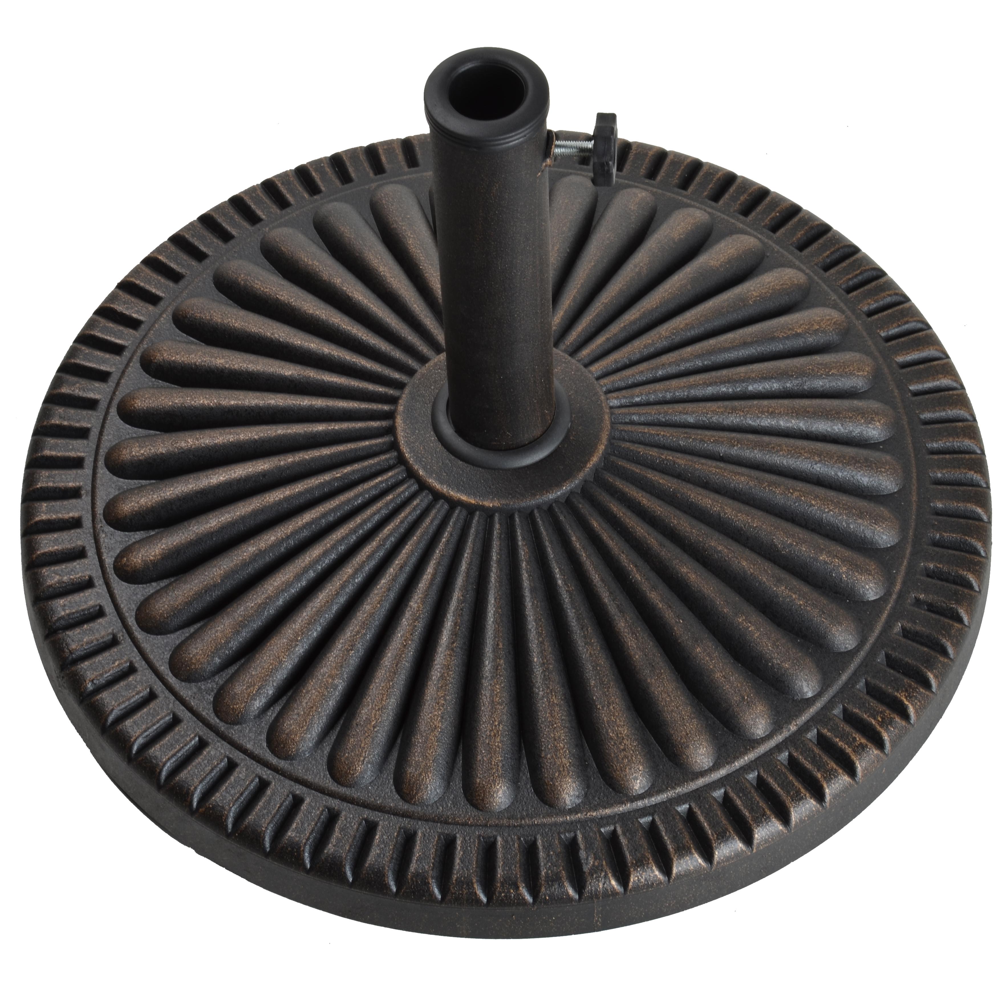 18Kg Veranda Umbrella Base - Antique Bronze