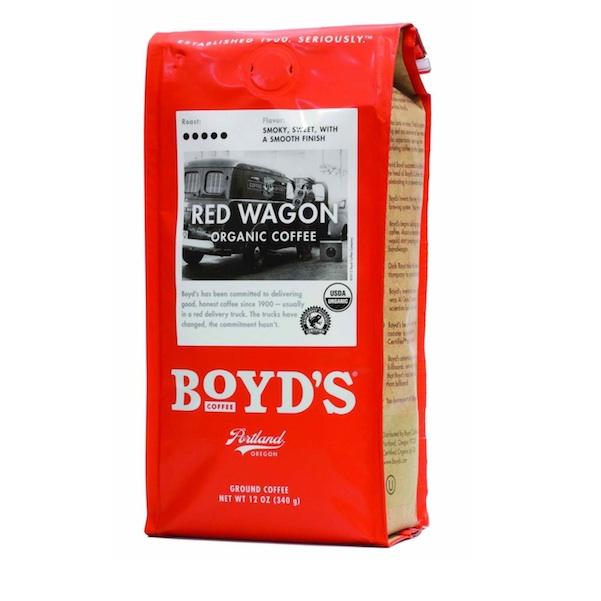 Boyds Coffee Red Wgn Coffee (6x12OZ )