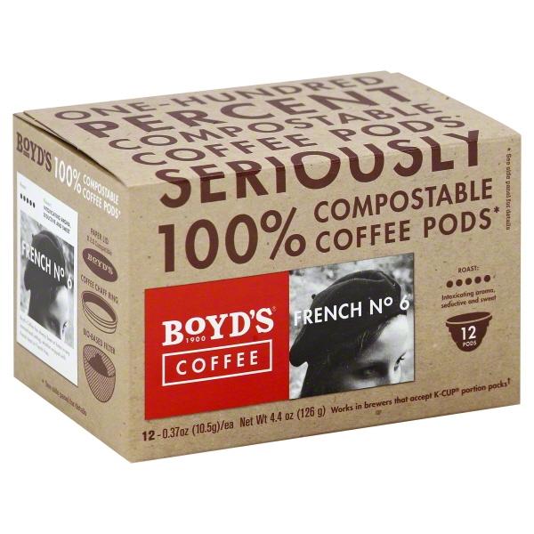 Boyds Coffee French No 6 (6x12 CT)
