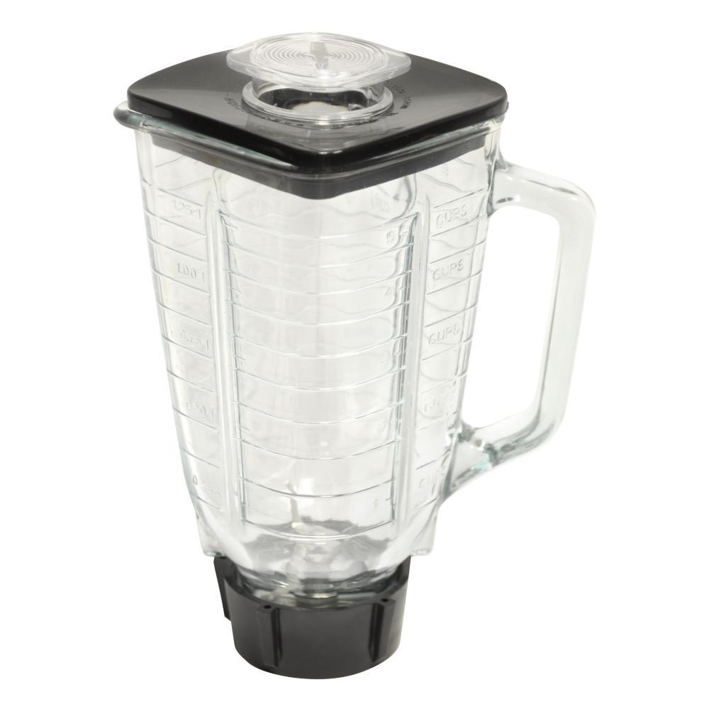 BRENTWOOD 6PC GLASS JAR BLENDER F/OSTER